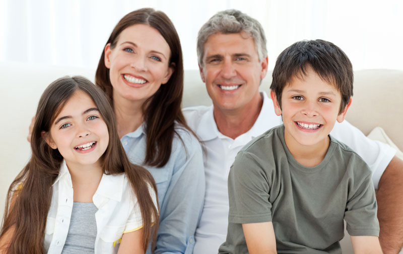 happy family about to renovate their Brisbane home