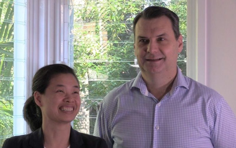 Brisbane couple talking about their experience with renovation builder